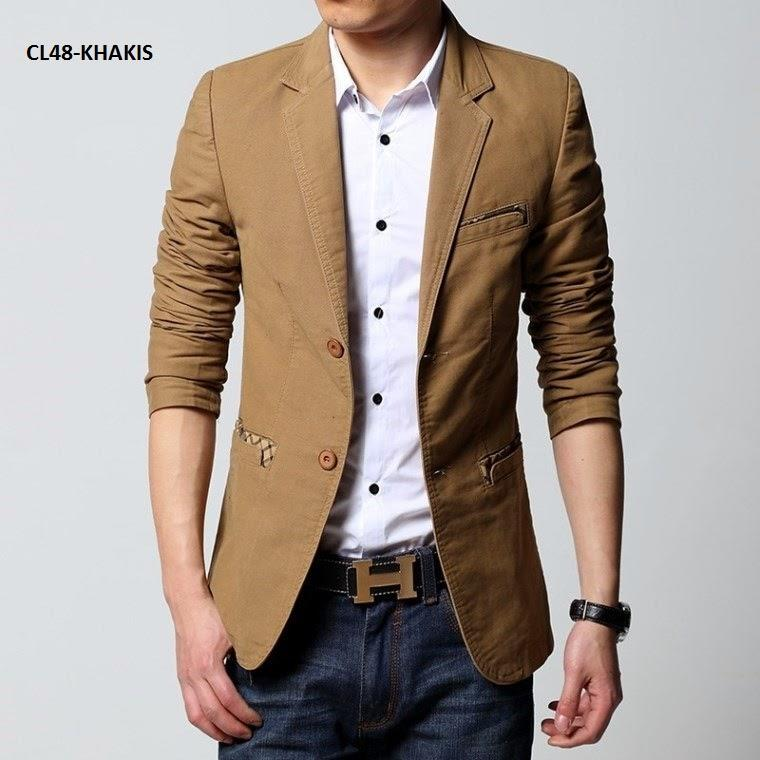 Men Casual Blazers Photo Album - Reikian