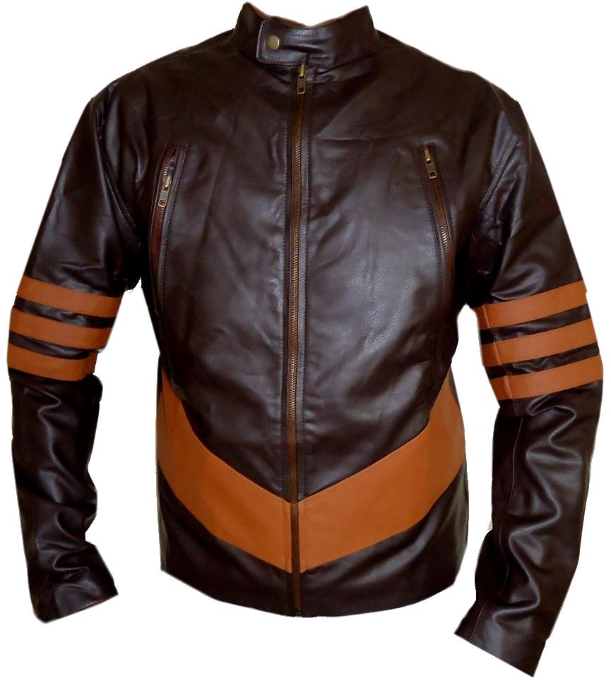 Classyak XMen Wolverine Real Leather Jacket, Premiere Quality Leather