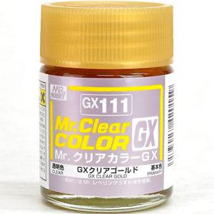 Mr Clear Color GX111 Clear Gold
