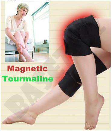 Clearance!  1 Pair Magnetic Tourmaline Knee Support Healing Therapy