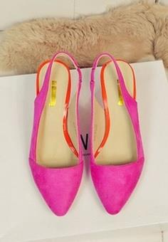 Clearance Sexy Pointed High Heel ROSE PINK