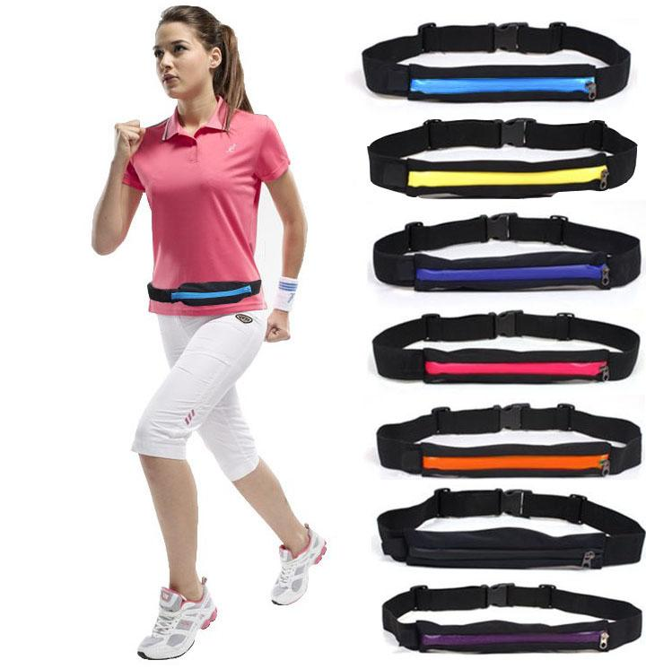 Clearance Waterproof Exercise Security Phone Pouch Belt Pocket MID