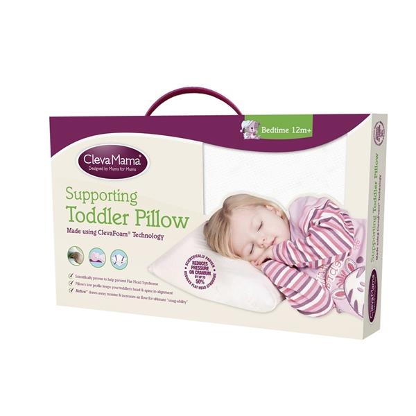 Clevamama Clevafoam Toddler Pillow 50cm