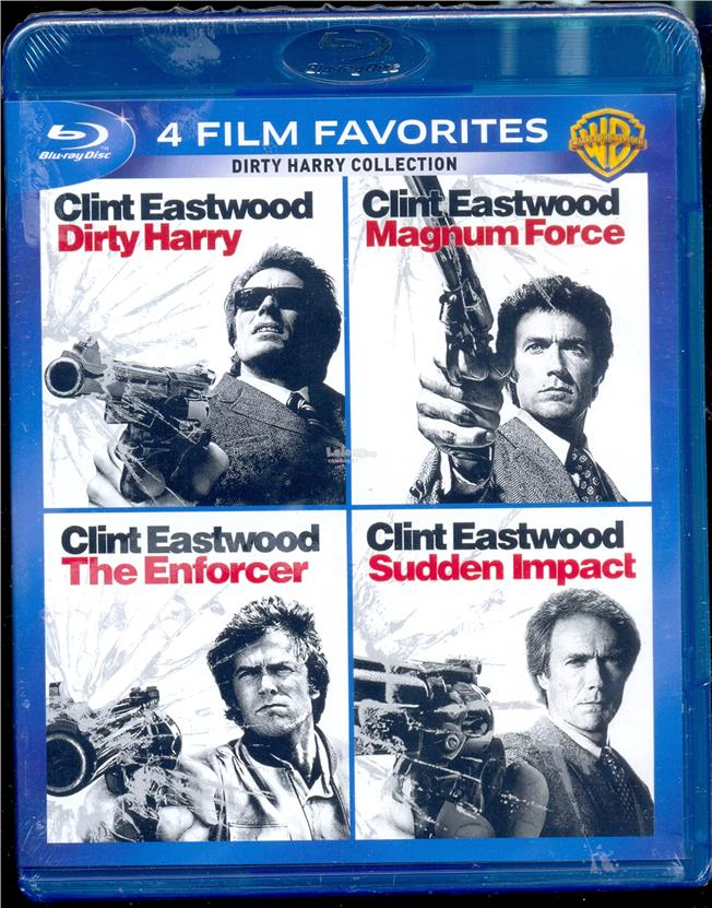 Clint Eastwood Dirty Harry Collection - New Box Set Blu-Ray