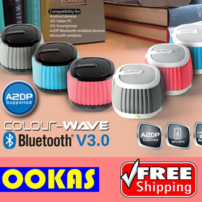 CLiPtec COLOR-WAVE Portable Bluetooth Wireless Speaker PBS242