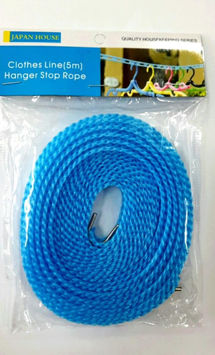 Clothesline-Hanger Stop Rope / Per roll