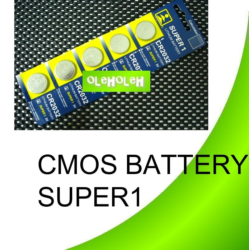 CMOS/BIOS Battery CR2032 Lithium For Computer PC Motherboard 1pkt 5pcs