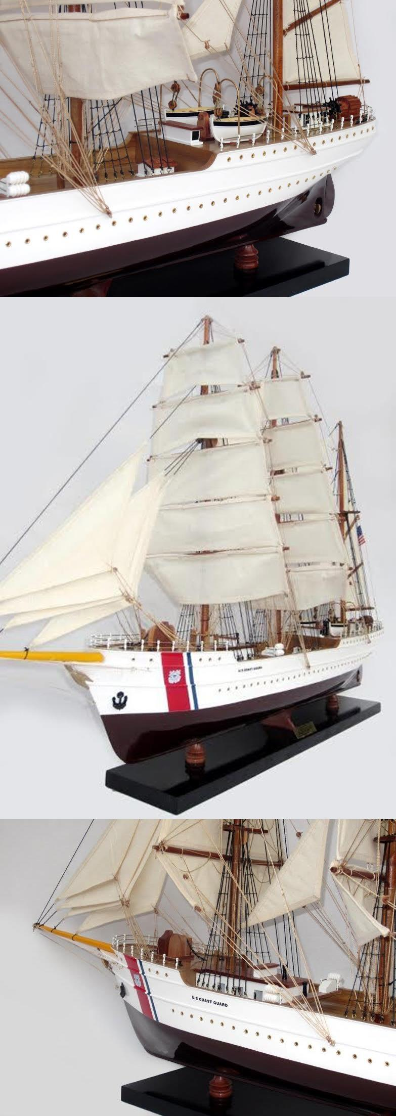 US COAST GUARD EAGLE SHIP MODEL (93CM)