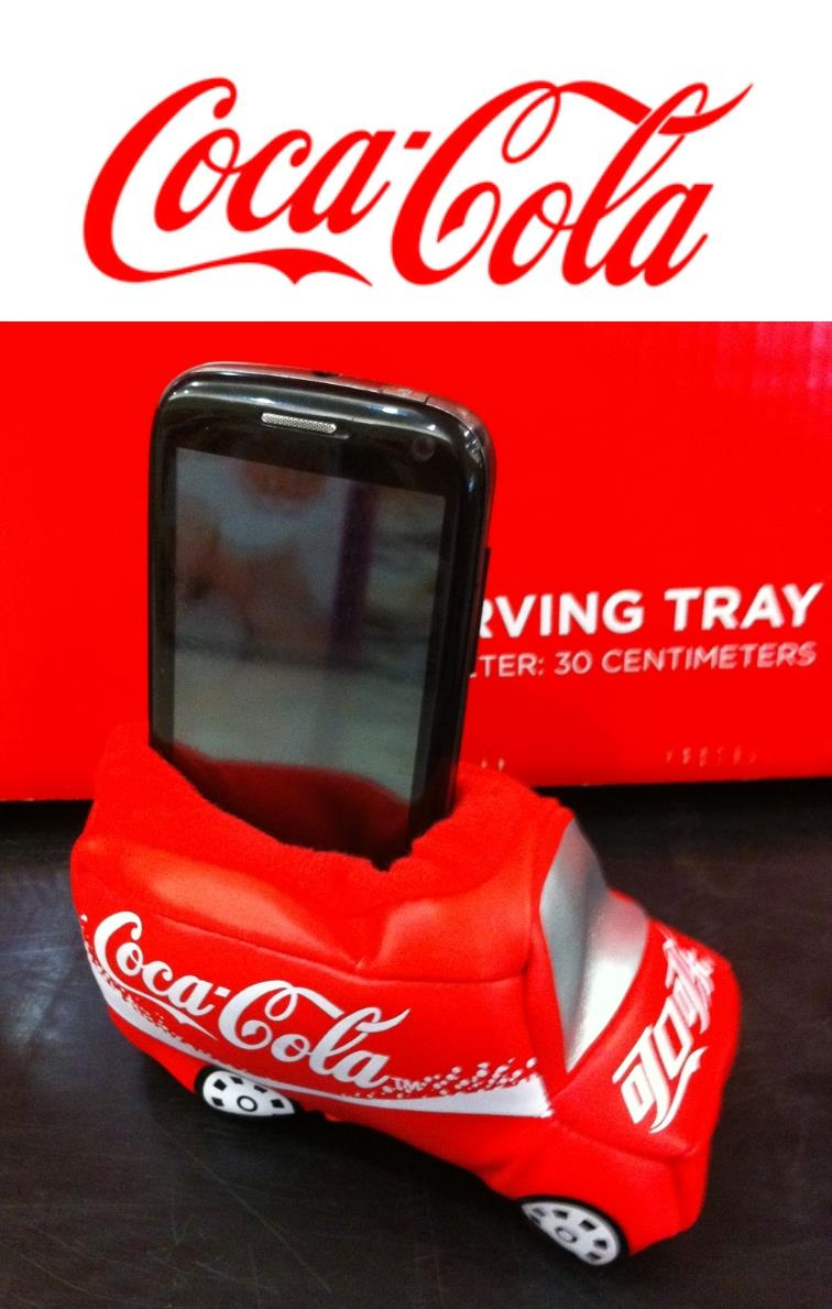 Coca Coca Mobile Phone Stand Holder
