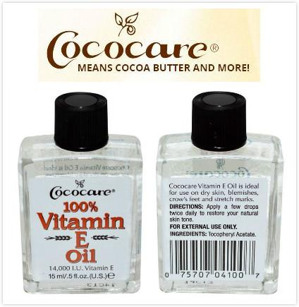 Cococare, 100% Pure Vitamin E Oil, 14,000 I.U. (15 ml)