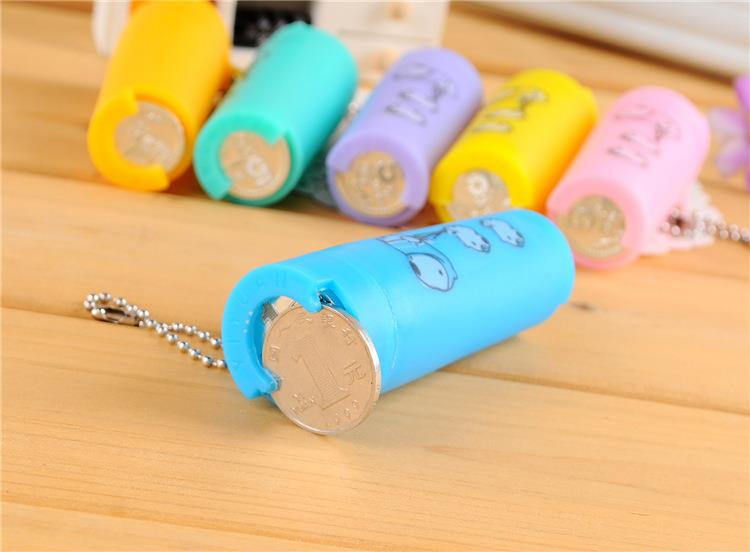 Coins Organizer Tube Travel (2 in 1)