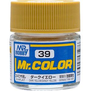 Mr Color 39 Dark Yellow (Sandy Yellow)