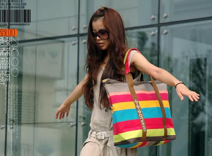 Color Stripe Bag