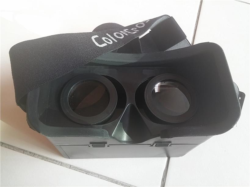 ColorCross VR VIRTUAL REALITY GLASSES HEADSET