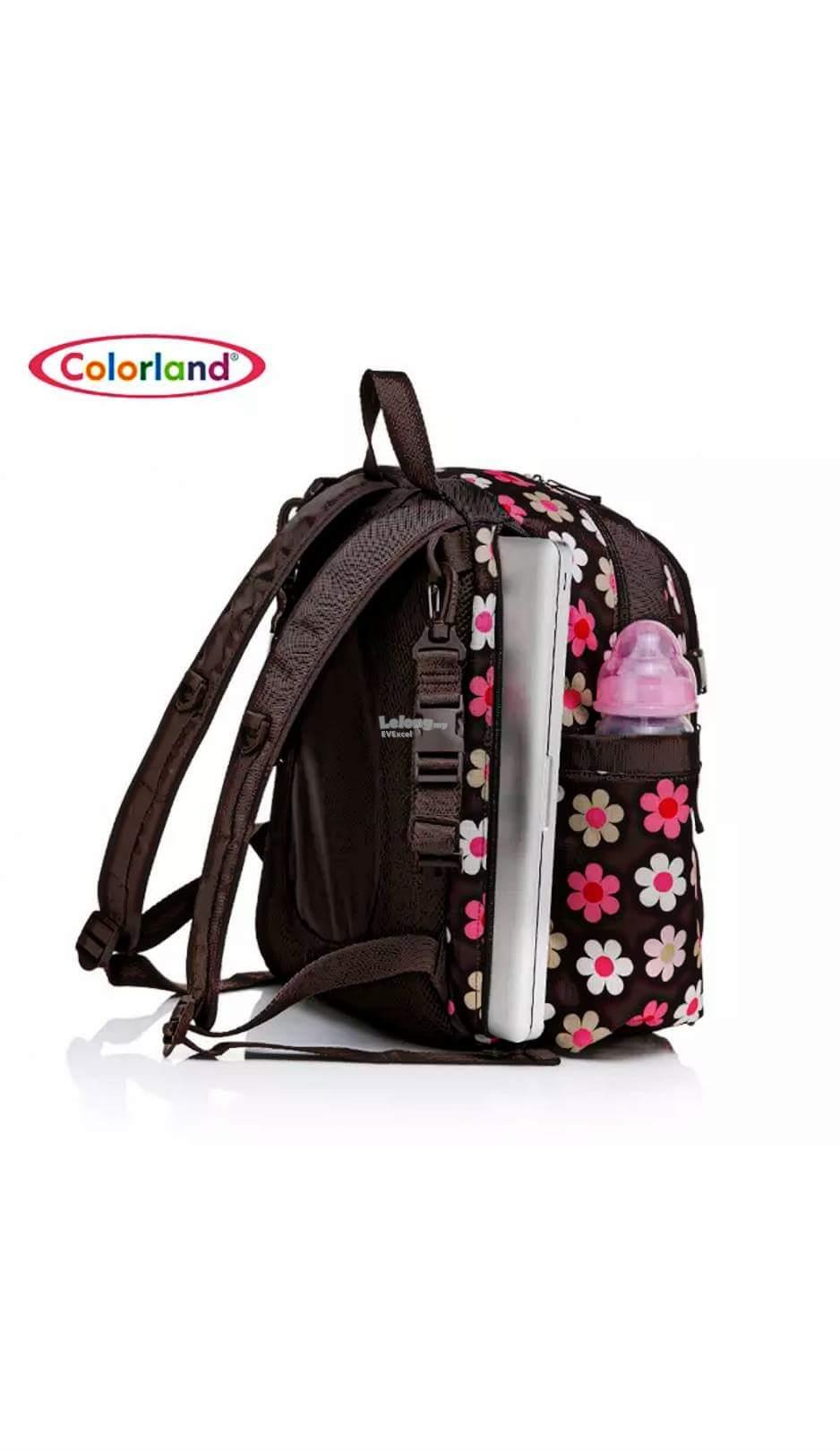 Colorland Abbey Ergo Baby Changing Backpack - Type D