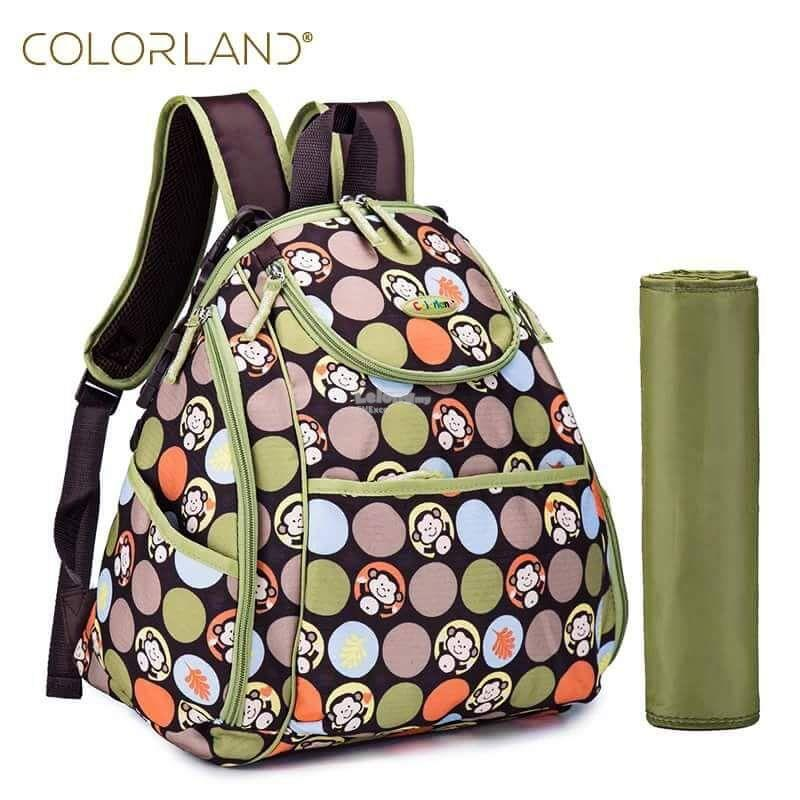 Colorland Mary Petite Baby Changing Backpack - Type A