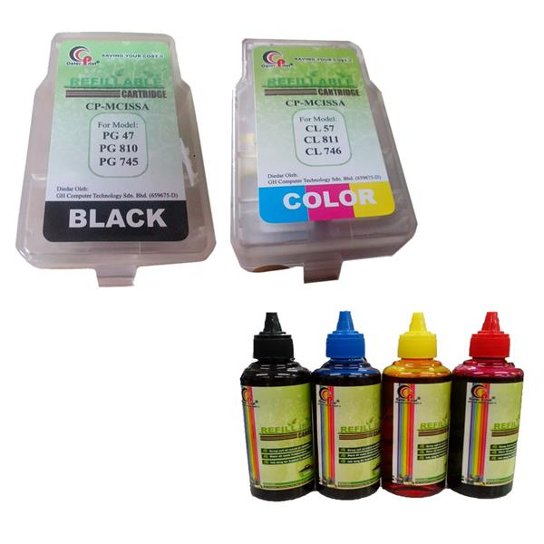 ColorPrint for CANON PG810/47/745/745S & CL811/57/746/746S Refillable
