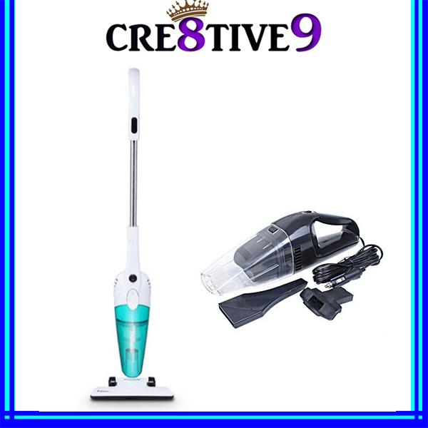 COMBO!! DEERMA DX118C Handheld Ultra-quiet Vacuum Cleaner + CV12 Mini