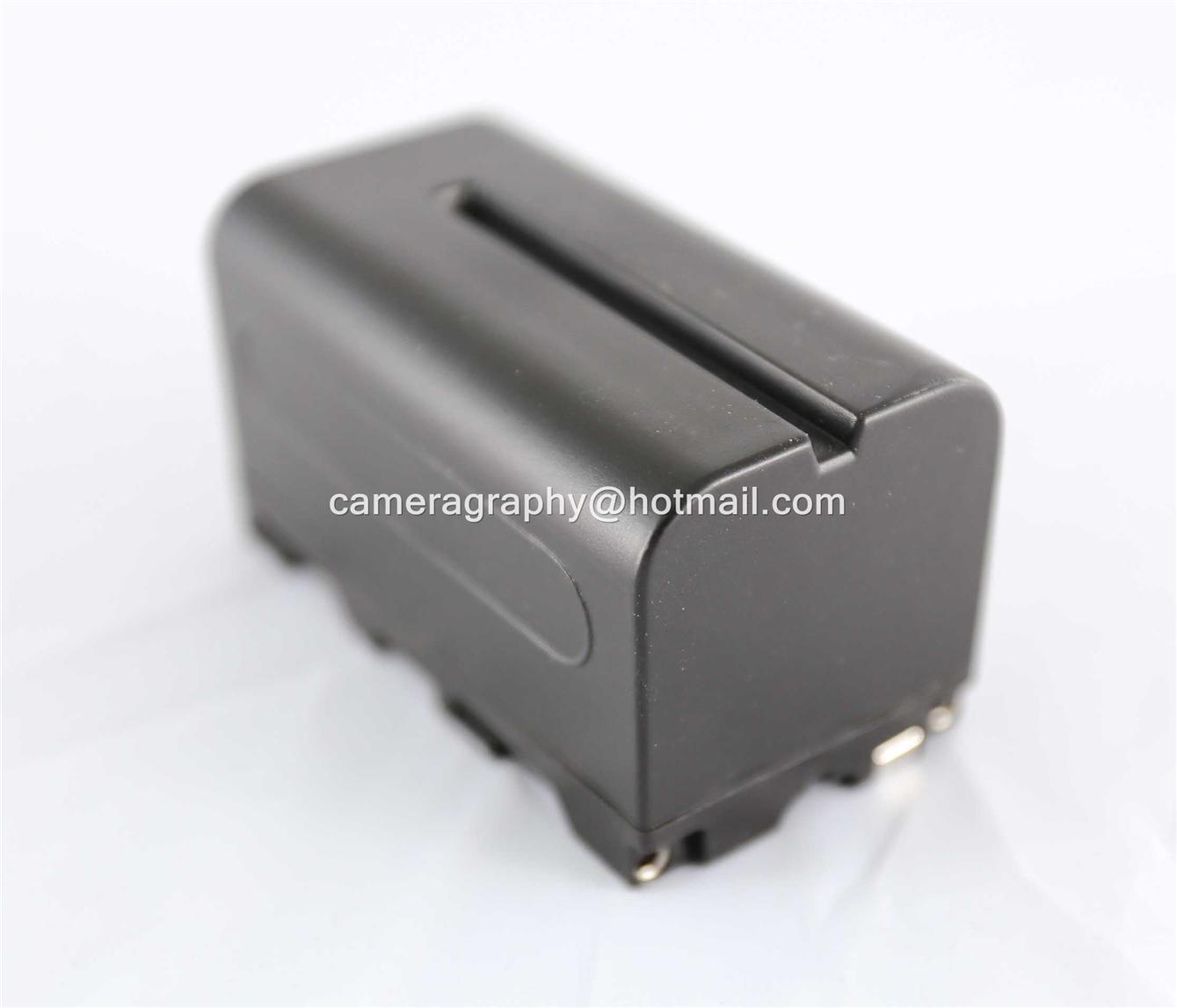 Compatible NP F770 Battery for YN600 YN300 LED Light