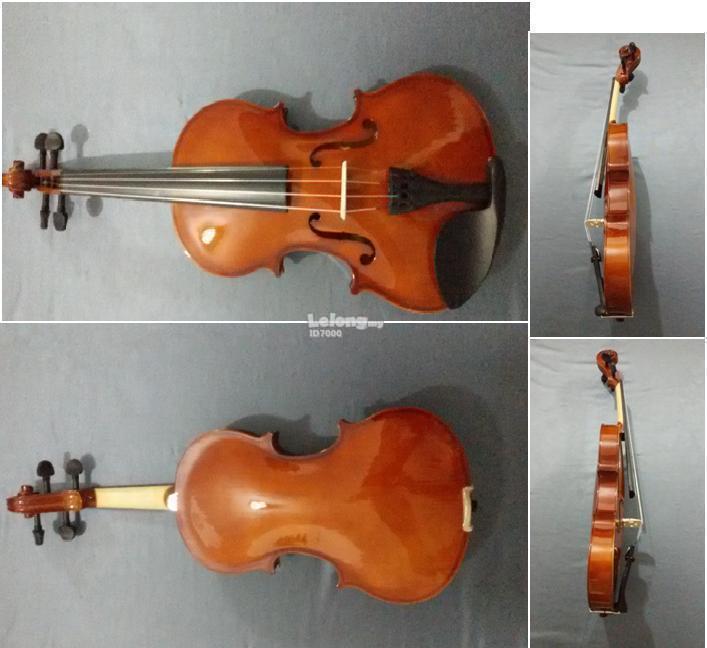 Complete New Violin with Free Hardcase, Bow & Rosin