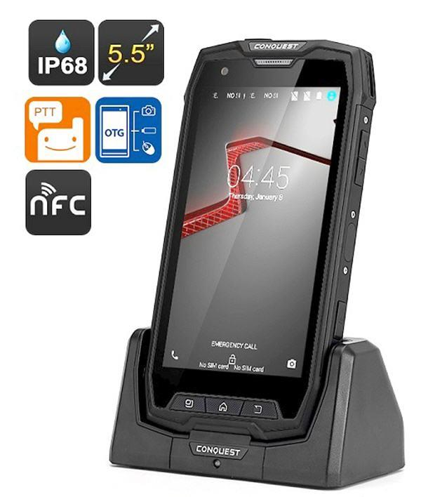 Conquest S9 Rugged Smartphone Nfc End 7 27 2017 10 30 Pm