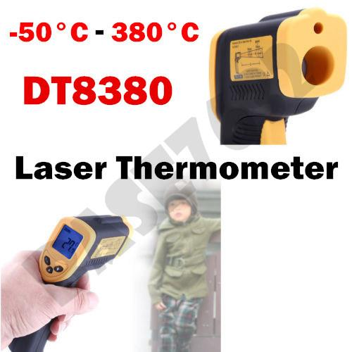 Non-Contact Laser IR Thermometer Temperature Gun -50 ºC to 380 ºC