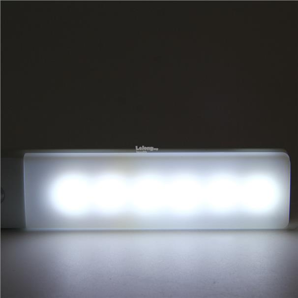 Control Human Body Motion Sensor Induction Rechargeable Thin LED lamp