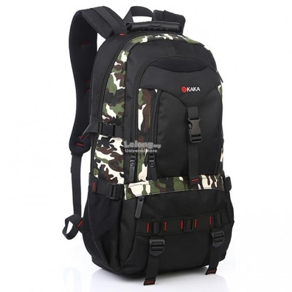 Cool Army Style Travel Backpack