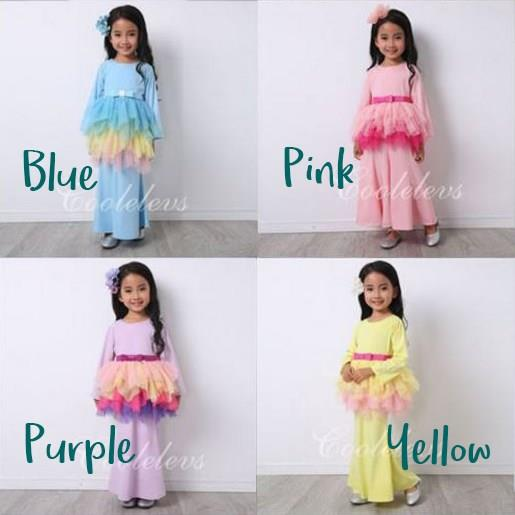 Coolelves Raya Tutu Set (ETA: Early April 2017)