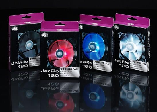 COOLER MASTER 12CM CASING FAN JETFLO 120