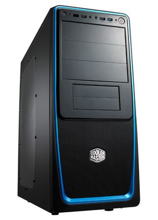 COOLER MASTER Casing ATX ELITE 311 USB3.0 (RC-311B-BWN3) BLUE