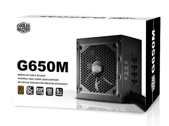 COOLER MASTER G650M ATX POWER SUPPLY