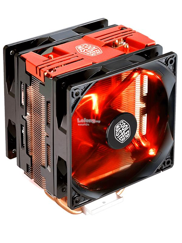 COOLER MASTER HYPER 212 LED TURBO RED CPU COOLER