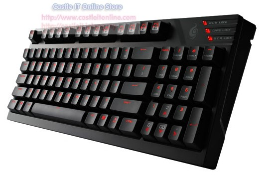 Cooler Master Keyboard QUICKFIRE TK (SGK-4020-GKCR1) MX RED