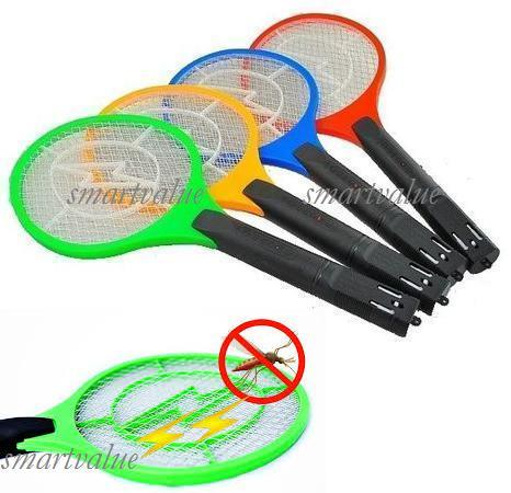 Cordless Powerful Rechargeable Mosquito Killer, Fly Swatter,Insect Bat