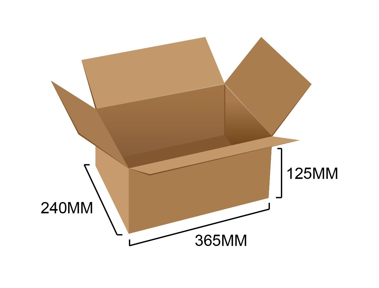 Corrugated Box 14.3' x 9.5' x 5' (10pcs)
