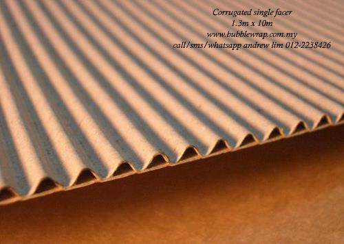 Corrugated Paper Roll B-Flute 1.3m x 10m Kraft Paper Packing*Free Ship
