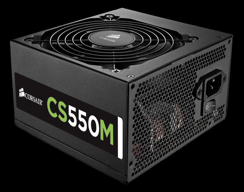 CORSAIR CS550M 550W 80 PLUS GOLD POWER SUPPLY (CP-9020076-UK)