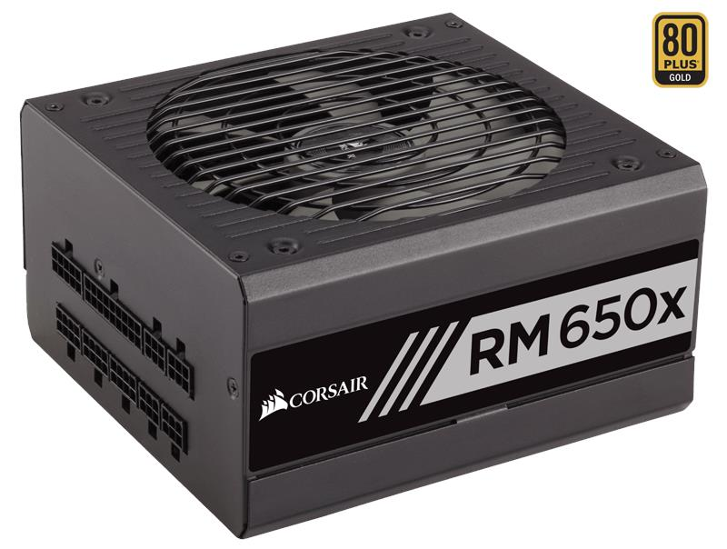 CORSAIR RMx Series RM650x 650 Watt 80 PLUS Gold Fully Modular PSU (UK)