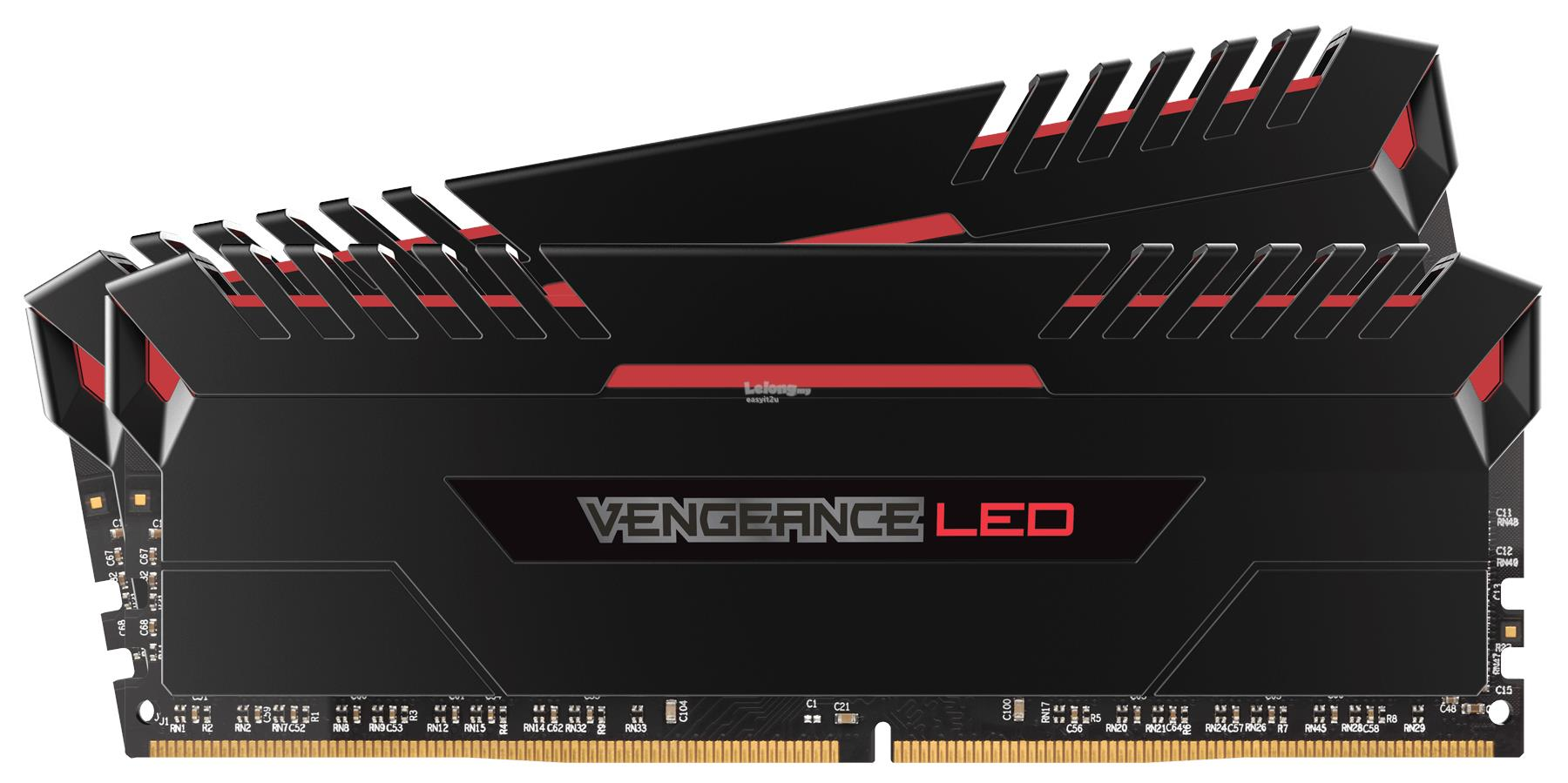CORSAIR VENGEANCE LED 32GB (2X16G) DDR4 3200MHZ (CMU32GX4M2C3200C16R)