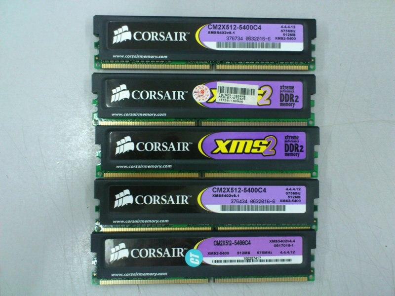 CORSAIR XMS2 512MB DDR2 RAM for Desktop PC 260713