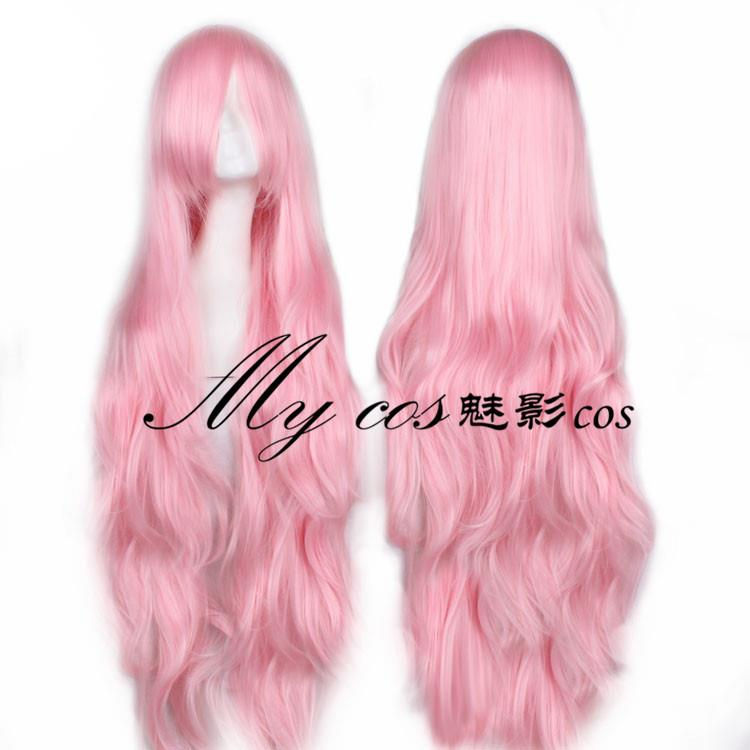 Cosplay wig 100cm long pik21 ready stock-rambut palsu