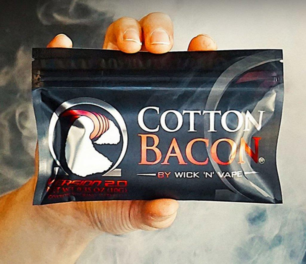 Cotton Bacon Imported USA Organic Cotton Fiber Wick Cottons Japanese