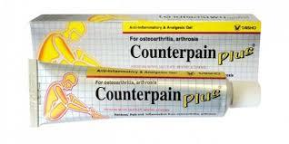 Counterpain Plus Anti-Inflammatory & Analgesic Gel (50G)