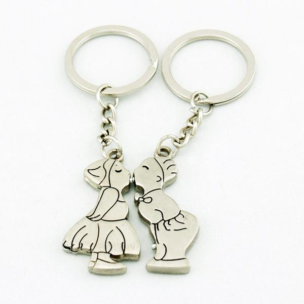 Couple Lover Kissing Key Chain Keychain K47