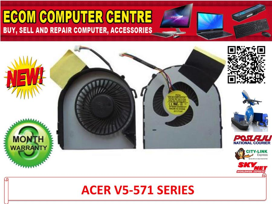 Cpu Cooling Fan For ACER V5 531 531G V5 571 571G V5 471G SERIES