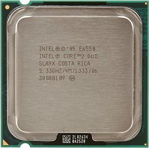 CPU Processor Intel® Core™2 Duo Processor E6550 2.4Ghz LGA775 Socket