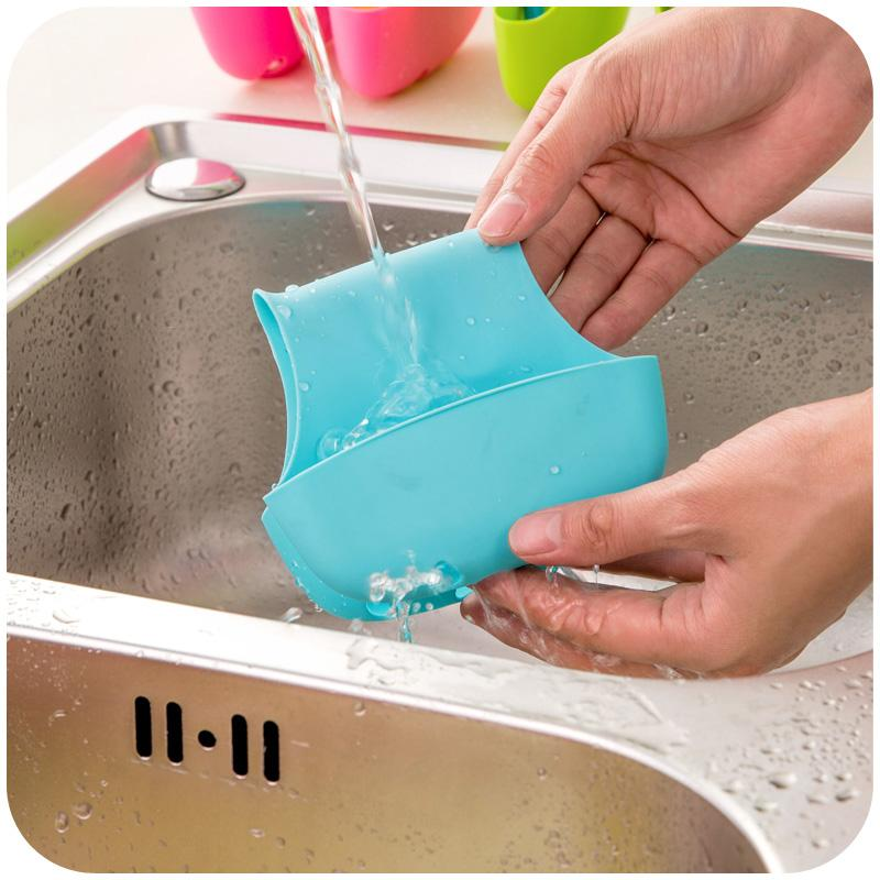 Creative High Quality Sink Sponge Double Side Draning Holder