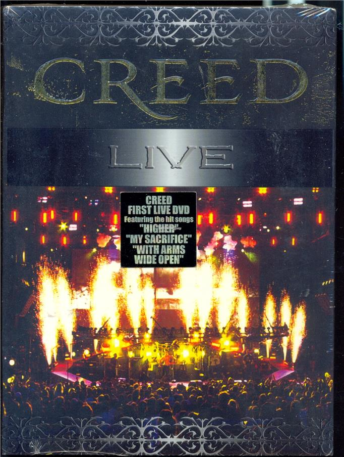 Creed - Live - New Live DVD