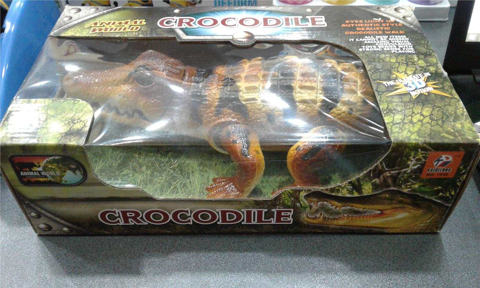 Crocodile Walk Battery Operated Kids Toys